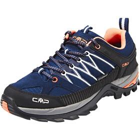 CMP Campagnolo Rigel WP Chaussures de trekking basses Femme, black blue-giada-peach